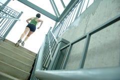 biegacz miejskie Zdjęcia Royalty Free