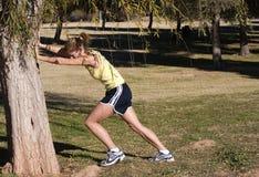 biegacz odcinka Fotografia Royalty Free