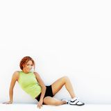 biegacz odpoczywa Zdjęcie Royalty Free