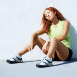 biegacz odpoczywa Zdjęcia Stock