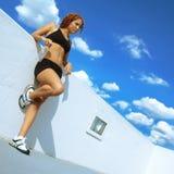 biegacz odpoczywa Obrazy Royalty Free