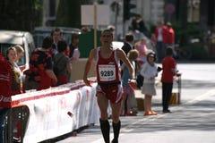 biegacz orzeźwiające fotografia stock
