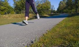 biegacz park Zdjęcie Stock