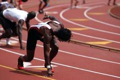biegacz sztafetowy Obraz Stock