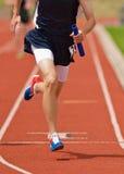 biegacz sztafetowy Zdjęcie Royalty Free