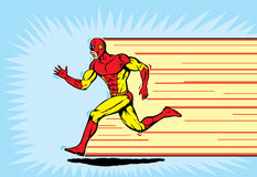 biegacza bohater Fotografia Stock