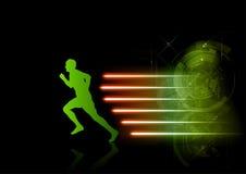biegacza jaśnienie Zdjęcie Royalty Free