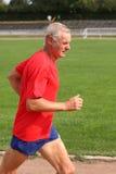 biegacza senior Zdjęcie Royalty Free