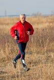 biegacza senior Zdjęcie Stock