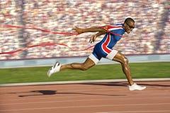 biegacza zwycięstwo obraz royalty free