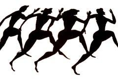 biegacze Zdjęcie Royalty Free
