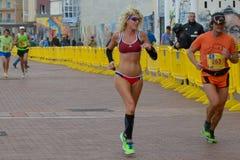 biegacze Fotografia Royalty Free