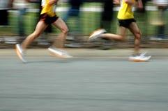 biegacze Obraz Royalty Free