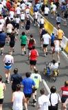 biegacze maratonów Zdjęcie Stock