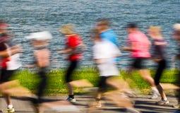 biegacze starsi Obraz Royalty Free