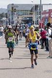 Biegacze Uczestniczy w kompanach Maratońskich w Południowa Afryka obraz royalty free