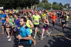 Biegacze w rasie Fotografia Stock
