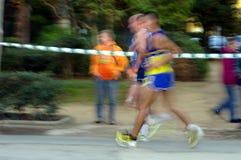 Biegacze w ruchu 78 Zdjęcie Royalty Free
