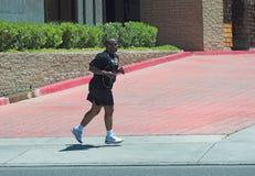 biegam po południu Obrazy Royalty Free
