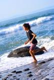 biegnij gril na plaży Obrazy Stock