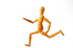 biegnij marionetką Zdjęcie Royalty Free
