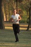biegnij park Fotografia Stock