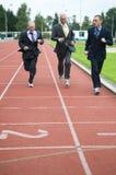 biegnij przedsiębiorstw Zdjęcie Stock