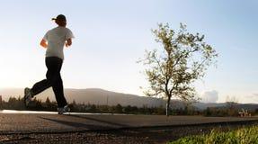 biegnij rano Obraz Stock