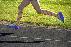 biegnij wyścigu Fotografia Stock