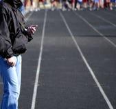 biegnij wyścigu Zdjęcie Stock