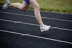 biegnij wyścigu Fotografia Royalty Free