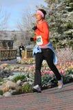 biegowa działająca kobieta Obrazy Stock
