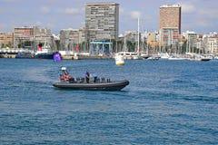 Biegowa urzędnika ziobro Volvo oceanu rasa Alicante 2017 Zdjęcia Royalty Free