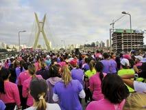 biegowe s ulicy kobiety Obraz Royalty Free