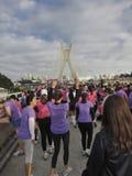 biegowe s ulicy kobiety Fotografia Royalty Free