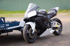 Biegowy rower przy odpoczynkiem - 2 Obrazy Stock