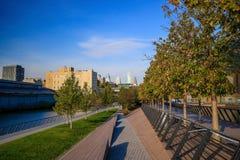 Biegowy Uliczny molo park w Filadelfia Obraz Royalty Free