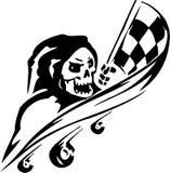 Biegowy znak - wektorowa ilustracja Obrazy Royalty Free