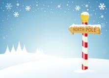 biegun północny Obrazy Stock