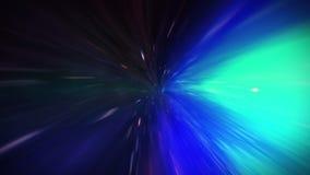 Biegung des Zeit-raums, Flug in ein schwarzes Loch, Ereignishorizont lizenzfreie abbildung