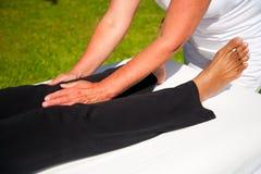 Biegunowość masaż Obrazy Stock