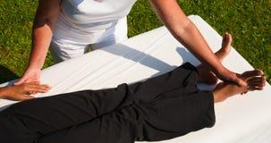 Biegunowość masaż Zdjęcia Royalty Free