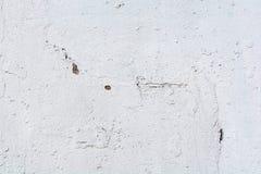 Biel ściana dla tła lub tekstury Zdjęcia Stock