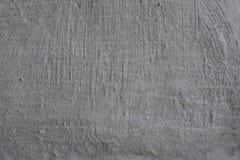 Biel Ścienna tekstura, niskiej jakości tynk Zdjęcia Stock