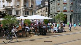 BIEL/BIENNE - ΕΛΒΕΤΙΑ, ΤΟΝ ΑΎΓΟΥΣΤΟ ΤΟΥ 2015: καθημερινή ζωή οδών φιλμ μικρού μήκους