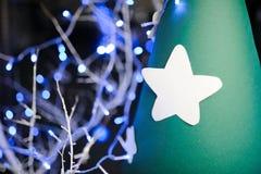 Biel bożych narodzeń gwiazdowy ornament Fotografia Stock