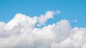 Biel chmurnieje timelapse Chmurny niebo przy pi?kn? pogod? zbiory