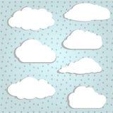 Biel chmury Zdjęcia Royalty Free