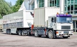 Biel ciężarówka Obraz Royalty Free