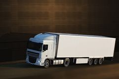 biel ciężarowy biel Fotografia Stock